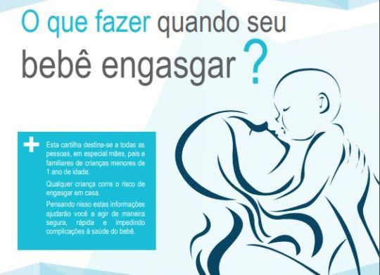USP lança cartilha com cuidados em caso de engasgo de criança